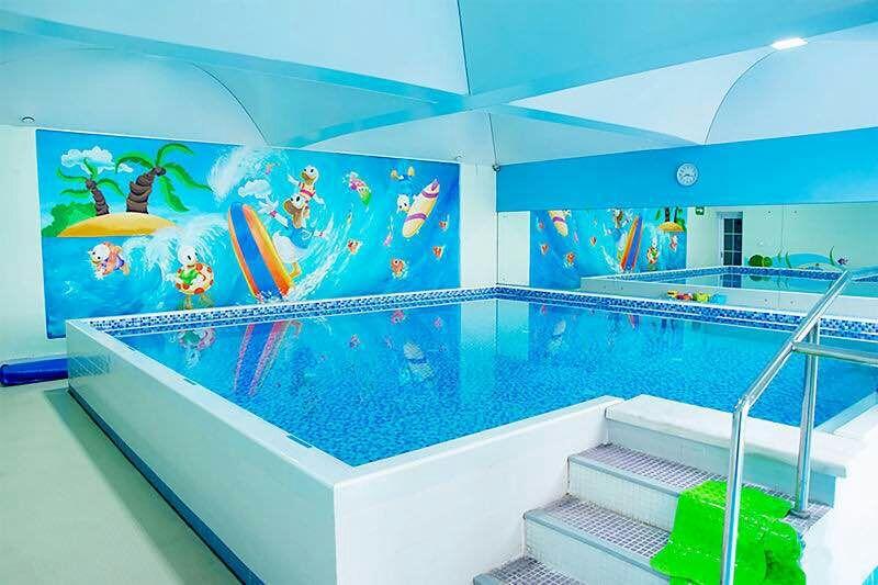 亲子游泳池给孩子最好的陪伴,最好的爱!