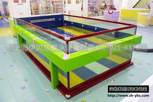 (定制)新款方形多功能节能钢化玻璃泳池
