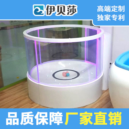 (定制)新款圆形玻璃游泳池