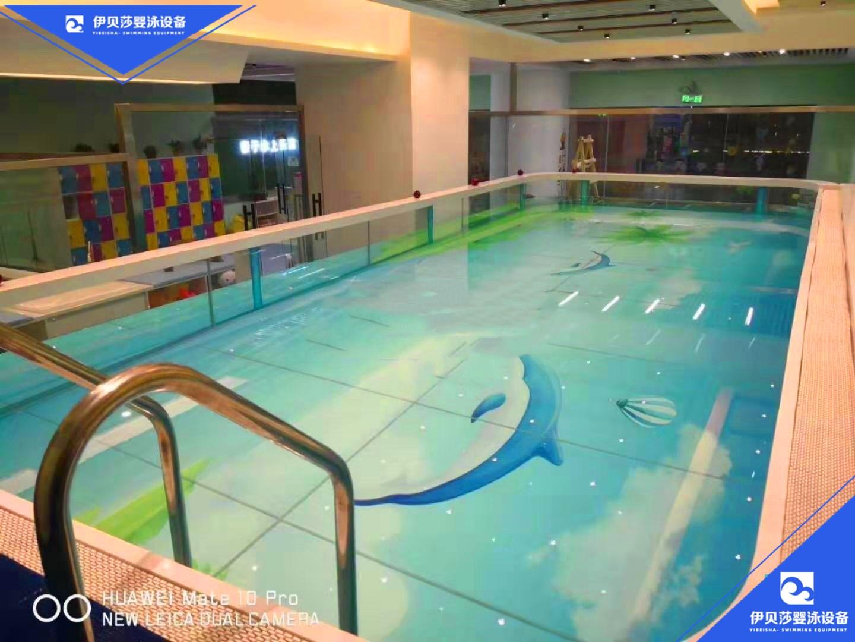 新款亲子玻璃游泳池