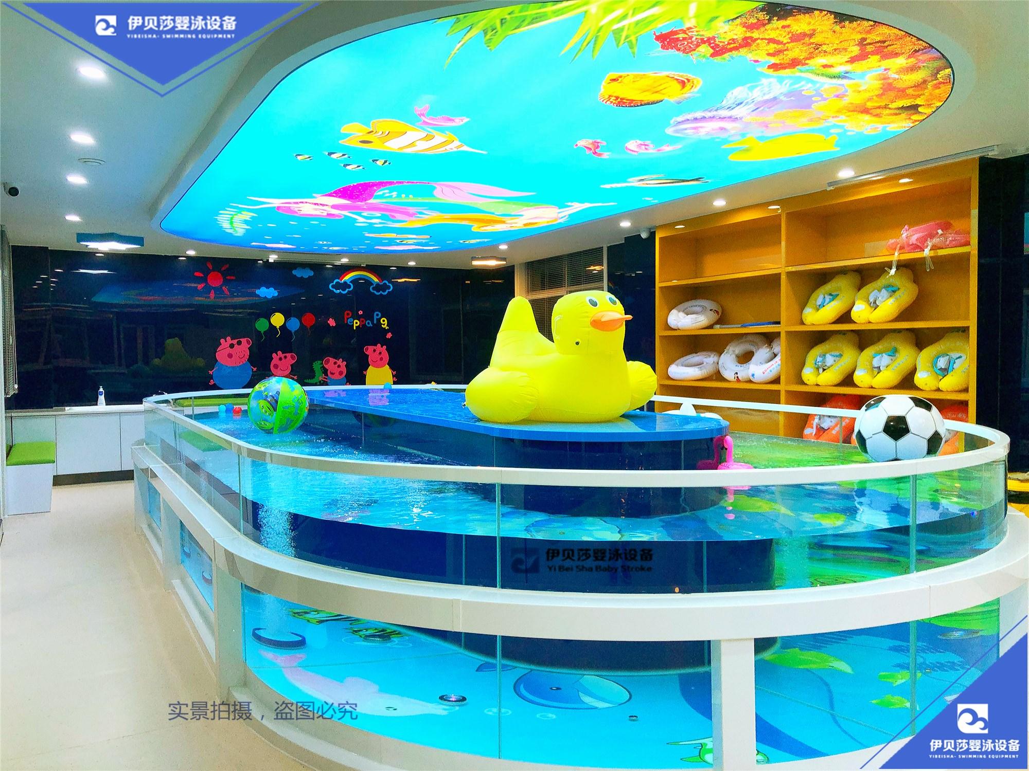 2020新款360鹅蛋型玻璃婴儿泳池