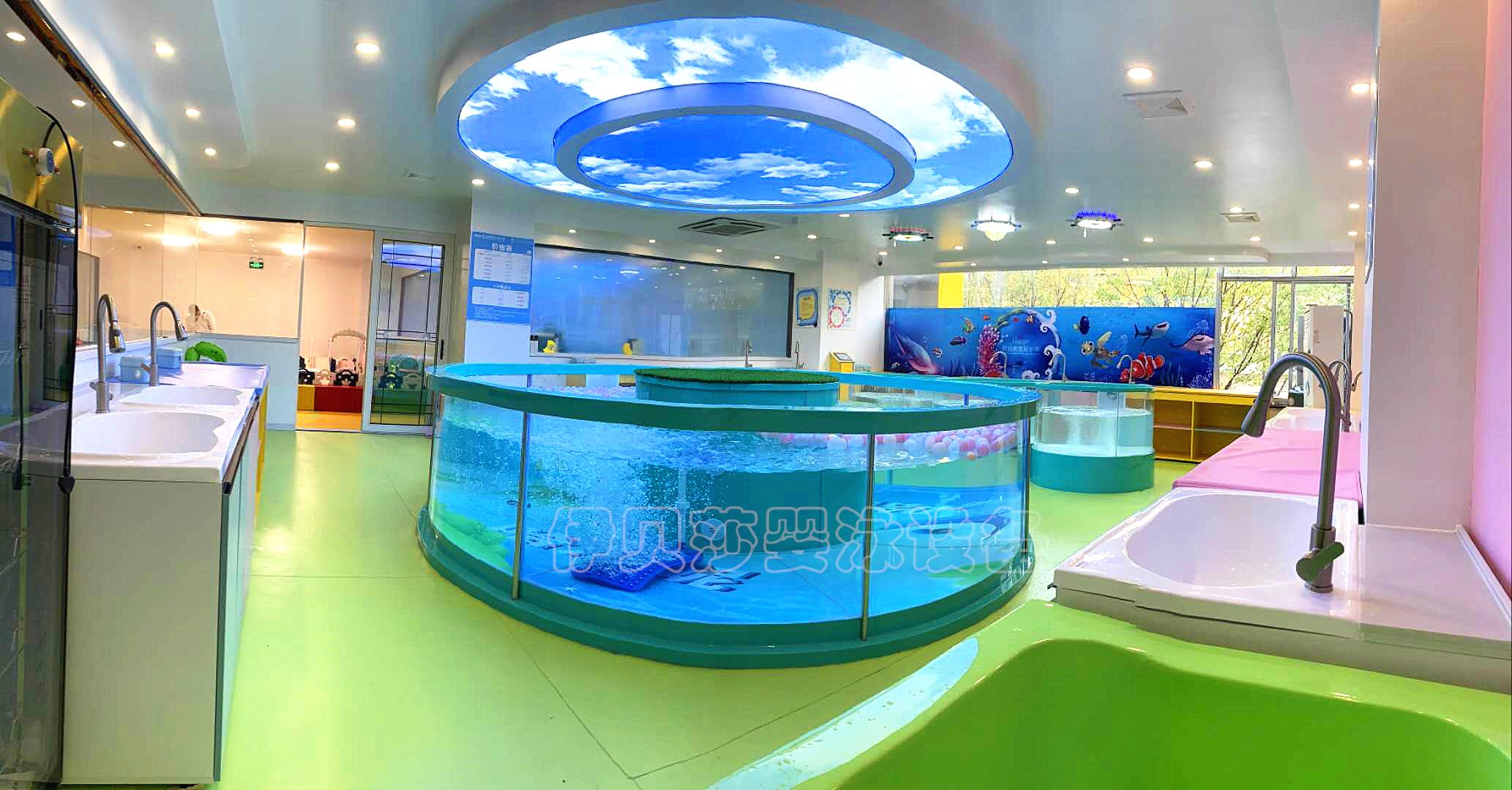 亲子玻璃游泳池,婴儿游泳玻璃池,儿童游泳玻璃池