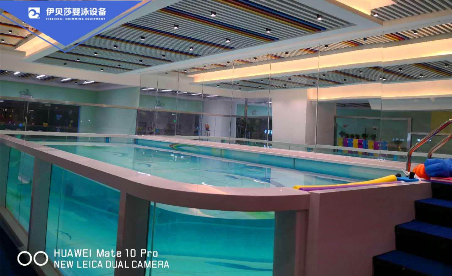 360°全透明亲子玻璃游泳池