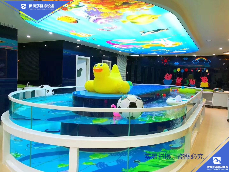 新款360鹅蛋型玻璃婴儿泳池