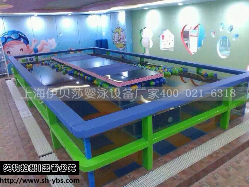 (方形定制)大型室内环流玻璃游泳池