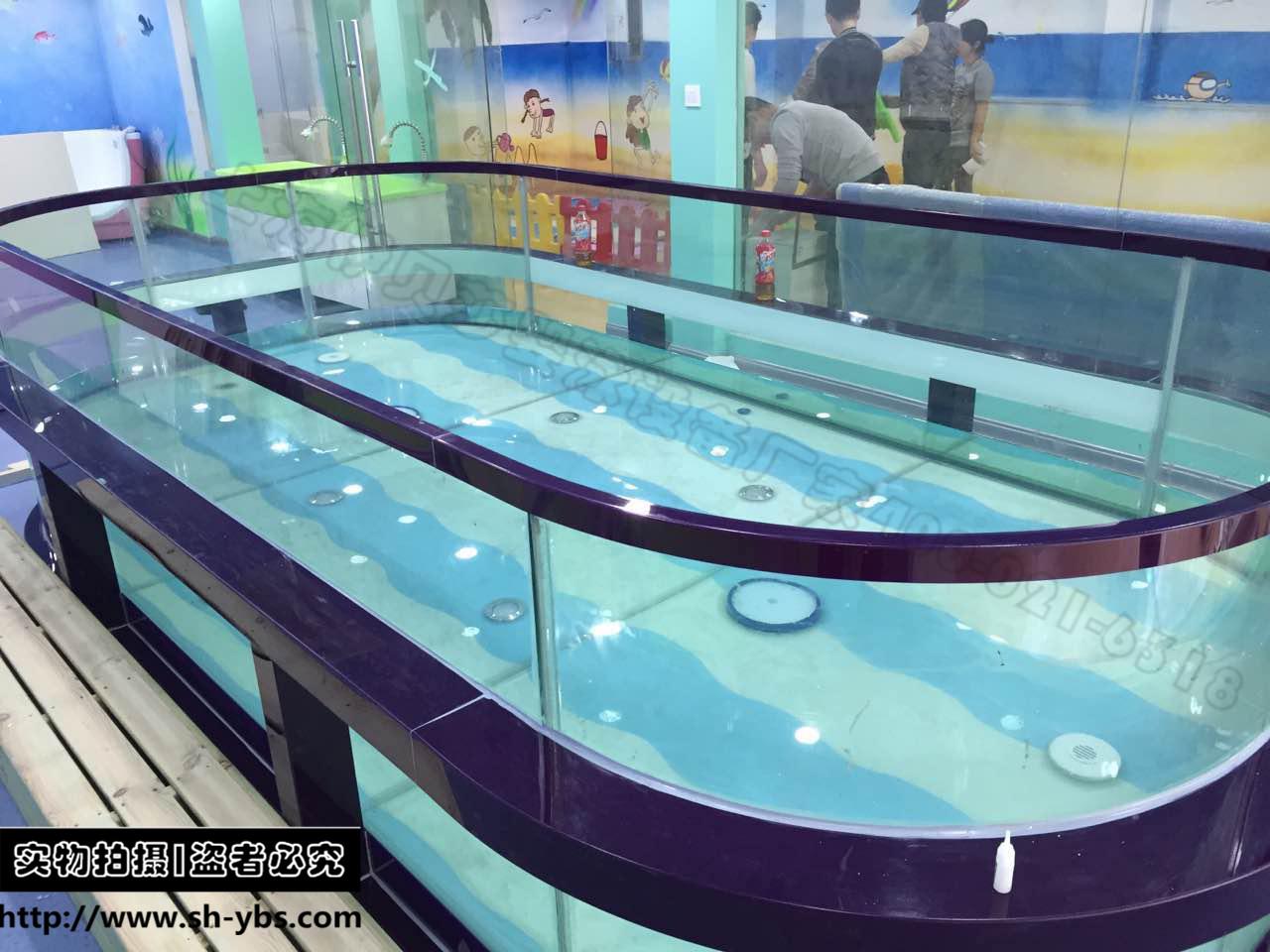 (定制)新款椭圆形多功能节能钢化玻璃池